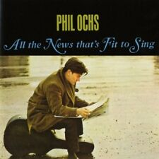 Phil Ochs - All the News That's Fit to Sing [New CD] UK - Import
