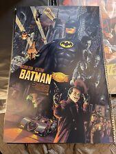 Batman Aurelio Lorenzo screen Print Poster - Private commission Nt Mondo