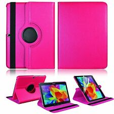 For Samsung Galaxy Tab 4 10.1 Tablet SM-T530NU Stand Leather Rotating Case Cover
