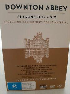 DOWNTON ABBEY Box Set  (As New)