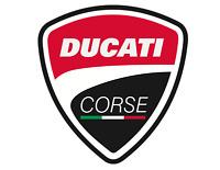 Sticker Decal Ducati Racing vintage motorcycle bike
