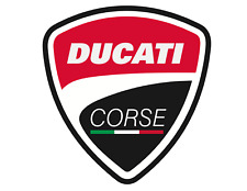 Sticker Decal Ducati Racing vintage motorcycle bike