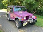 2002 Jeep Wrangler  1997 Jeep Wrangler Automatic Magenta Pearl