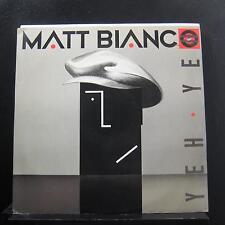 "Matt Bianco - Yeh Yeh 12"" 45 RPM VG+ YZ46 T WEA UK 1985 Vinyl Record"