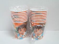 GO DIEGO GO  HOT  /COLD CUPS 9 oz - LOT OF 2 PACKAGES - PARTY SUPPLIES