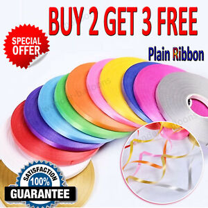 Balloon Ribbon Curling Ribon Gift Wrapping Florists Crafting 50 METRESx 5mm Sale