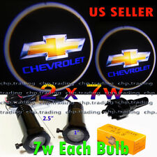 Chevrolet  2x7w Ghost Shadow Laser Projector Logo LED Light Courtesy Door Step