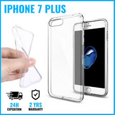 Transparent .3mm Soft Clear Case Cas Cover Etui Coque Silicone For iPhone 7 Plus