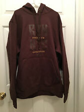 NWT K1X Men's Queensbridge Outta NYC New York Brown Gold Hoodie Sweatshirt 3XL