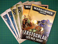 First Strike Regelpaket German Warhammer 40,000