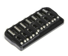 """Hipshot 41070B 7-String Hardtail Fixed Electric Guitar Bridge .125"""" - BLACK"""