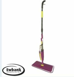 Ewbank Premium Spray Mop Tiles Laminate Hard Floor 360° Cleaning Microfibre Pad