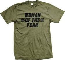 Woman of the Year Best Mom Ever Mothers Day Present #1 Gift Idea Mens T-shirt