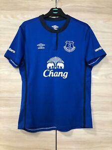 Everton 2014-2015 Home Football Soccer Umbro Shirt Jersey Women's size 8