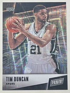 TIM DUNCAN 2019 Panini Father's Day ESCHER SQUARES Parallel #03/10 SSP SPURS HOF
