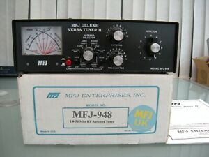 MFJ-948 1.8 to 30 Mhz HF Antenna Tuner (Not Automatic)