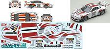 """1/43 décalque Porsche 911 (991) gt3 Cup """"J 2 Racing"""" droife 2016"""