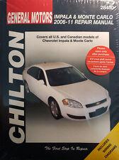 2014 chevy impala repair manual