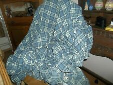 Sure Fit Sofa Cover, Blue Plaid