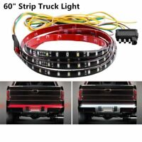"60"" Tailgate LED Strip Bar Truck Reverse Brake Turn Signal Tail Light Universal"