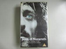 JESUS OF NAZARETH - DOUBLE VHS