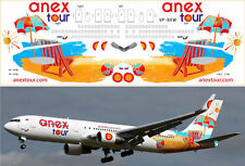 1/144 PAS-DECALS.laser decal Boeing 767-800 Anex Tour Zvezda Revell