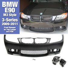 M3 Style Front Bumper w/ Fog Lamps w/o PDC For BMW 2009-2011 3 Series E90 LCI