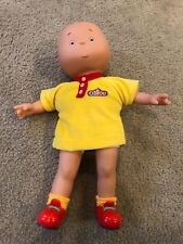 "CAILLOU DOLL 14"" Classic Friends EUC Removable Clothes RARE VHTF PBS Kids"