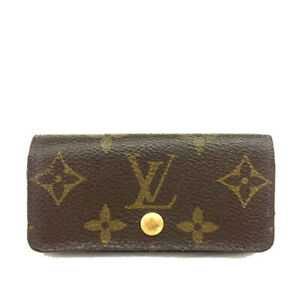 Louis Vuitton Monogram Multicles 4 Ring Key Case /C1599