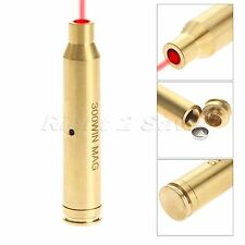 Brass 300 WIN MAG Cartridge Bore Sighter Red Laser Boresighter for Hunting Rifle
