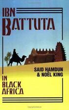 Ibn Battuta in Black Africa Said Hamdun Noel King Paperback Book