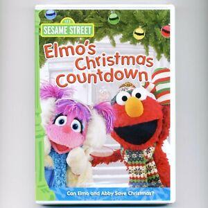 Elmo's Christmas Countdown Sesame Street prime time special, new DVD Ben Stiller