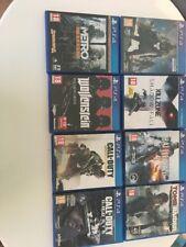 ps4 games bundle excellent condition