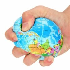 Anti Stress Globe Ball Earth Map Adult Toy Sensory Squeeze Toys For Men Women