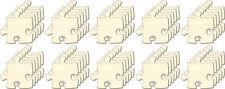 Blanko Puzzle unendlich Mini, Set 50 Teile, Puzzleteile aus Holz, Bemalen, Deko