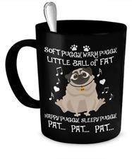 """""""Soft Puggy"""" Funny Pug Mug Delivers Big Bang!  ... -  11oz Coffee Mug"""