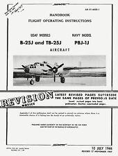 NORTH AMERICAN B-25J, TB-25J and PBJ-1J - HFOI 1947