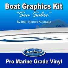 Boat Graphics Kit - Sea Sabre