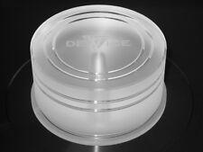 Record Puck-Plattengewicht-Plattendämpfer von Delta Device 200g PLEXIGLAS®