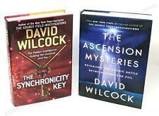 Ascension Mysteries & Synchronicity Key ~ David Wilcock HC/DJ LIKE NEW
