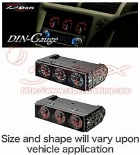 DEFI Din Gauge Triple Meter DF14402