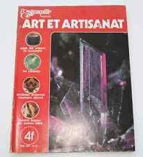 Revue d'art L'ESTAMPILLE n°21 1971 Artisans de Bourgogne Minéraux Dunand Laqueur