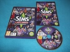 THE SIMS 3 LATE NIGHT EXPANSION PACK PC/MAC DVD-ROM V.G.C. FAST POST COMPLETE