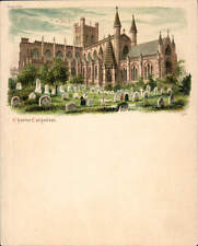 Chester Court Size Postcard # 1261. Chester Cathedral.