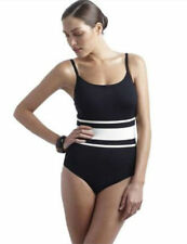 Brand New Panache Taylor Underwired Swimsuit SW0540 Size 30E Black/Ivory  SALE