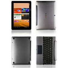 Skinomi Brushed Steel Skin+Screen Guard for Asus Transformer Pad TF300+Keyboard