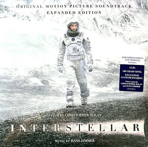 Hans Zimmer 4xLP Interstellar (Expanded Edition)