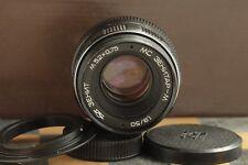 KMZ Soviet lens MC ZENITAR - M (1,9/50) (mount 42) SLR + adapter for Canon EOS