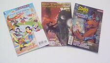 All Ages 3 Pack Comic Bundle: Scooby Doo, Mountain Railroad & DC Girl Power 9.6