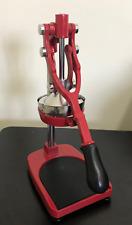 Spremi melograno Bar pesante professionale agrumi acciaio ghisa 6,5 Kg! rosso